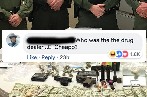 Local Cops Posted Pics Of A