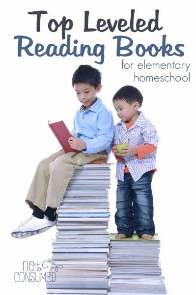 Looking for reading books on their level? These are our favorite leveled reading books for homeschoolers. Wholesome, filled with adventure, and just right for any age reader!