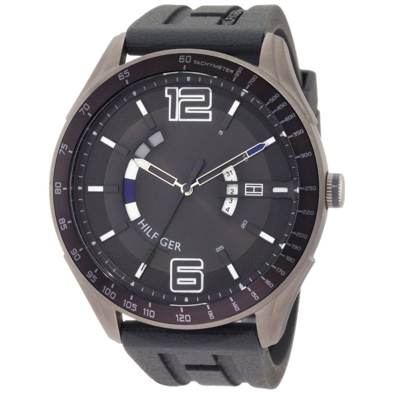 7f7b34acb2c Tommy Hilfiger Men s Sport Silicone Strap Watch