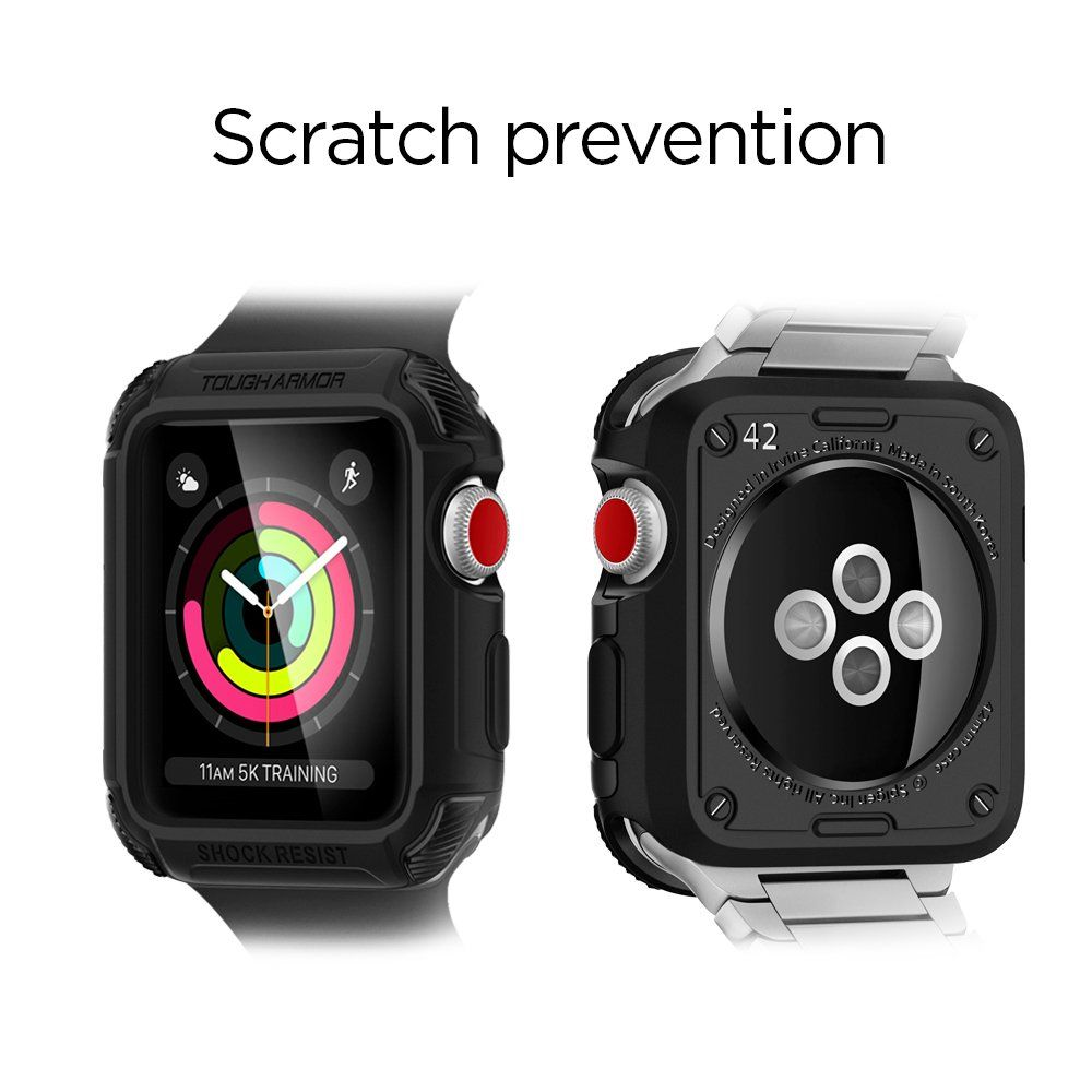 timeless design 95973 d8079 Spigen Tough Armor [2nd Generation] Apple Watch Case with Extreme ...