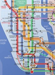 Jfk Subway Map.Budget Getting From Jfk Airport Into New York City Cruise