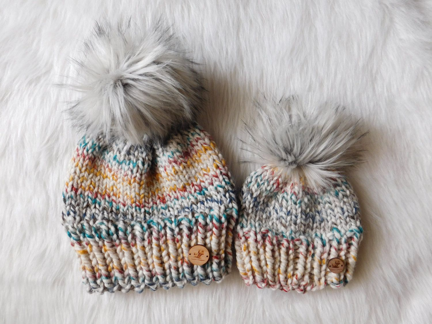 Ready to ship mommy and me hudson bay hats. Mom and son hats. matching hats  .Mom and daughter hats. baby hats by NataliaTreasures on Etsy df231fb7799