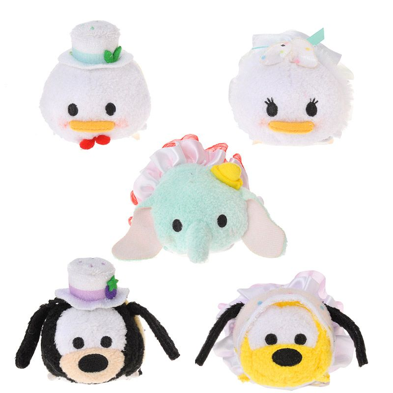 Disney Plush doll TSUM TSUM Minnie S Strawberry Japan import NEW Disney Store