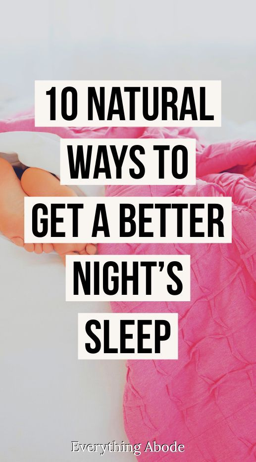 How to Sleep Better at Night - Things You Can Do t