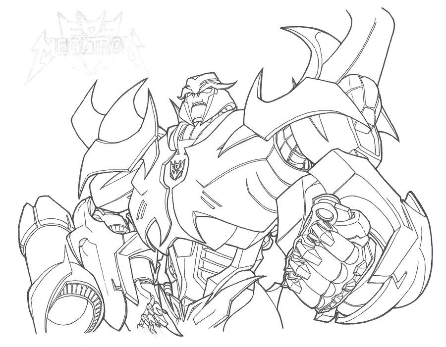 Megatron - Transformers Prime by yukinyon on DeviantArt ...