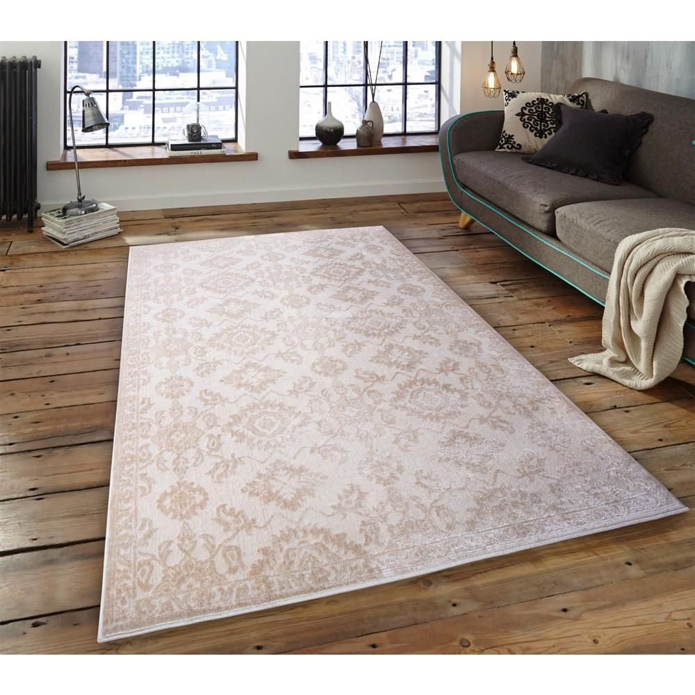 Lyncrest Ivory Shimmery 7 Ft 10 In X