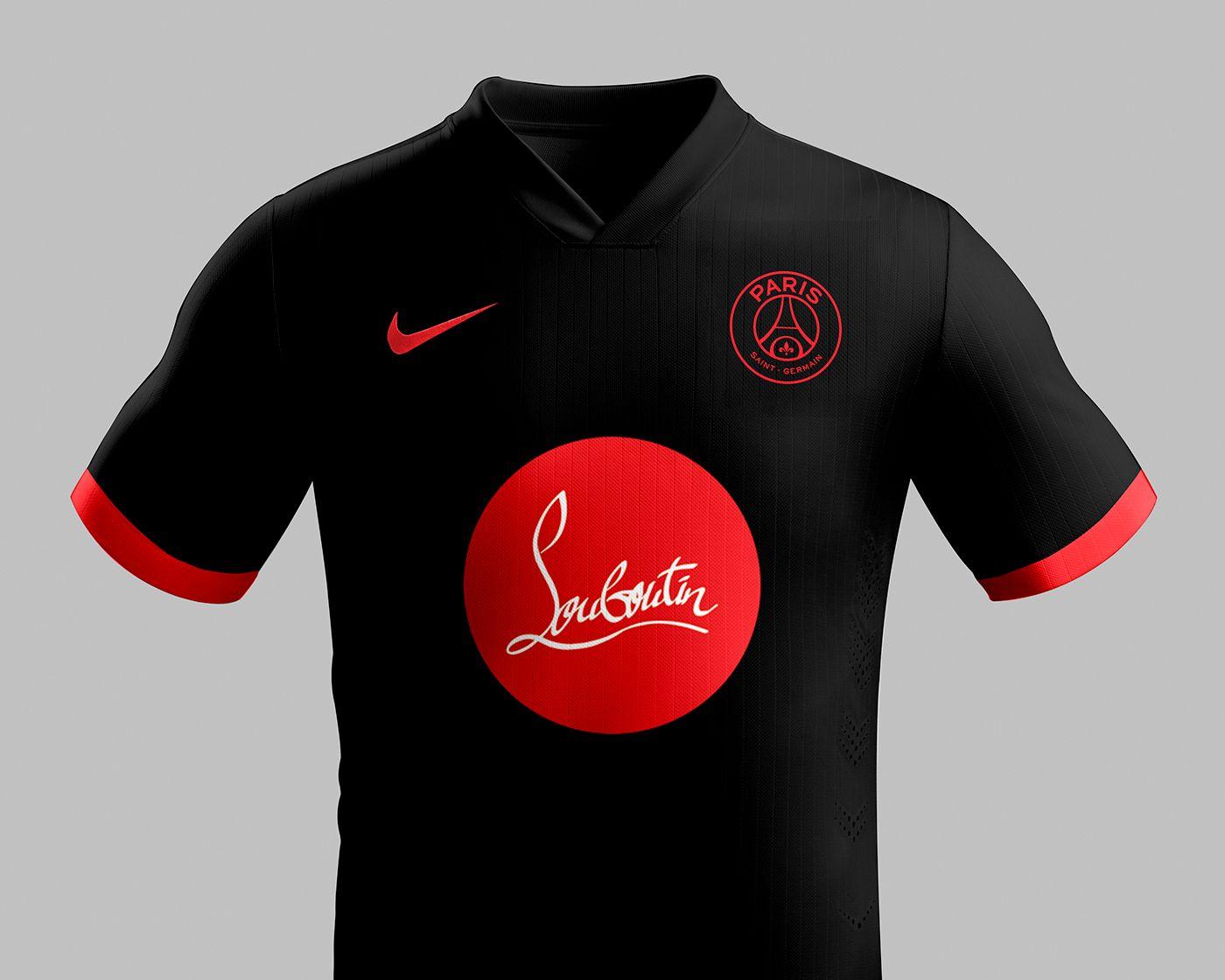 Les Maillots De Foot Dessines Par Des Marques De Luxe Psg By Louboutin Camisa Esportes Esporte