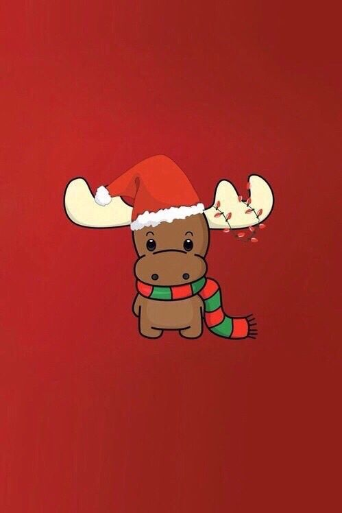 Christmas Red And Reindeer Image Wallpaper Iphone Christmas Christmas Wallpaper Iphone Cute Christmas Wallpaper Backgrounds