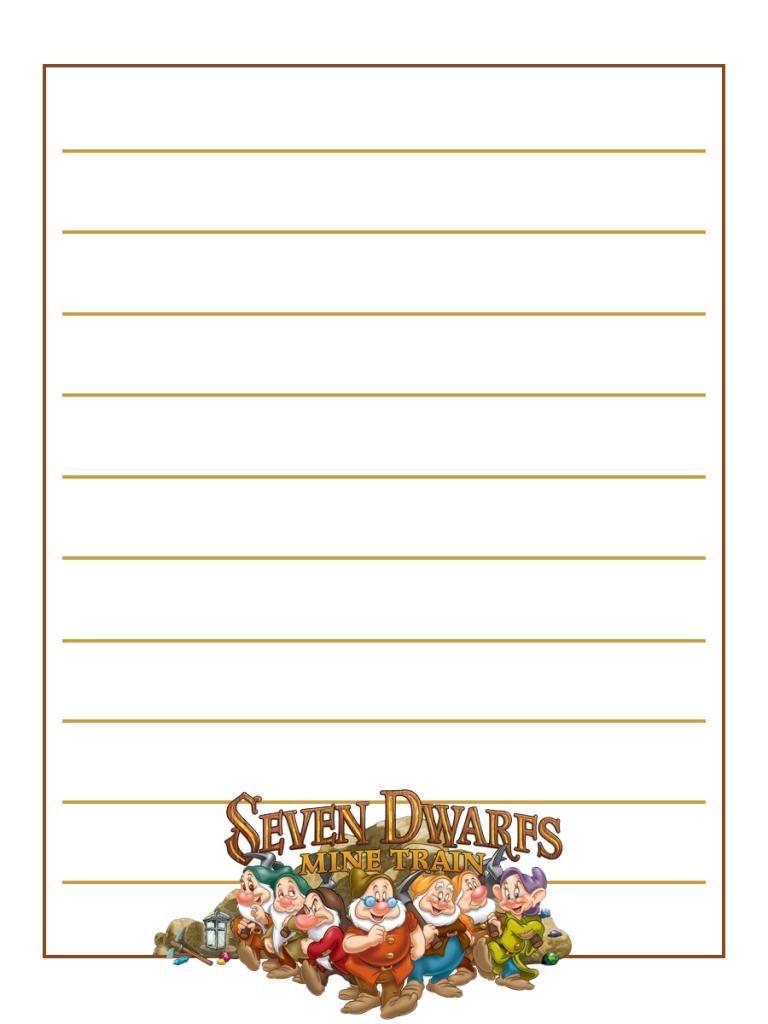 Seven Dwarfs Mine Train - Magic Kingdom - Project Life