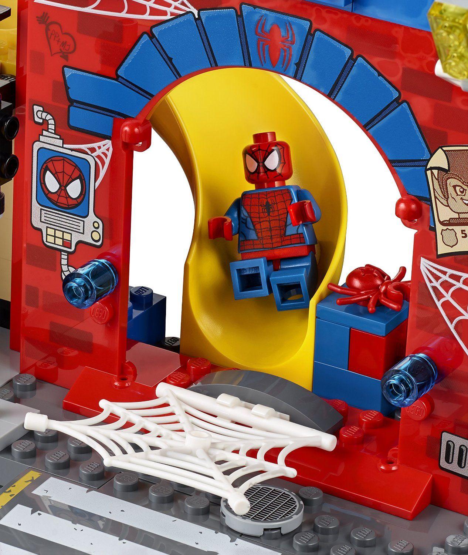 LEGO Juniors Spider-Man Hideout Building Kit #toys #LEGO # ...