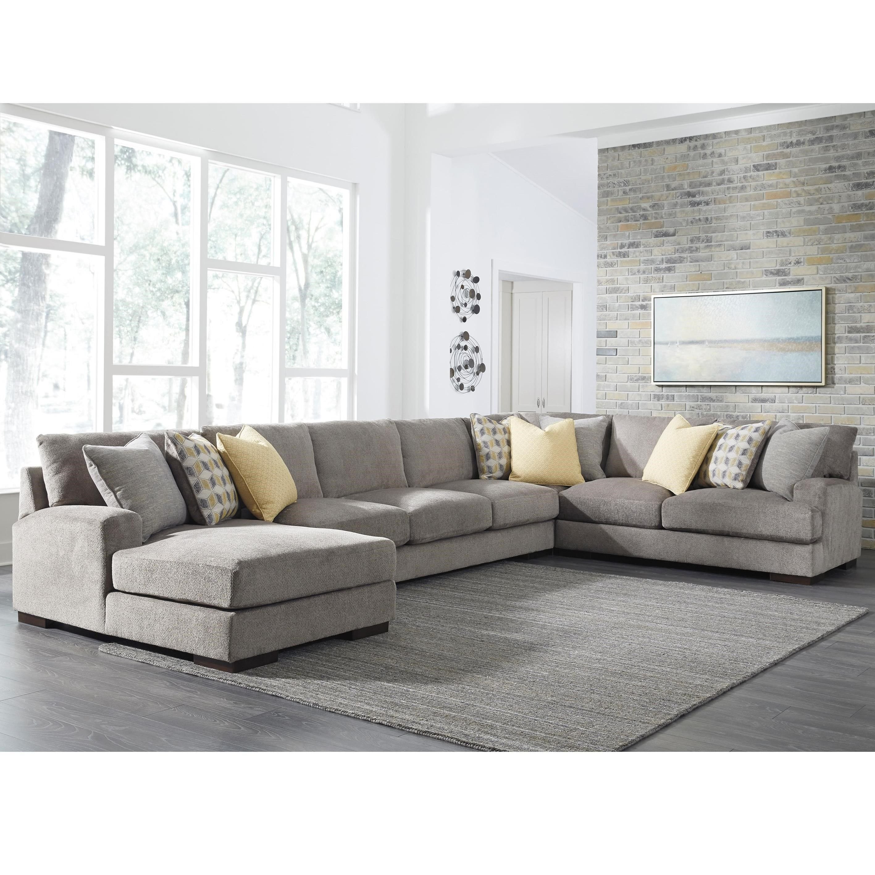 Fallsworth 4 Piece Sectional By Benchcraft At Sam Levitz Furniture