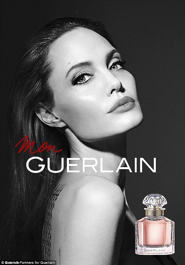 Angelina Jolie Stars In A New Sensual Fragrance Advert For Guerlain