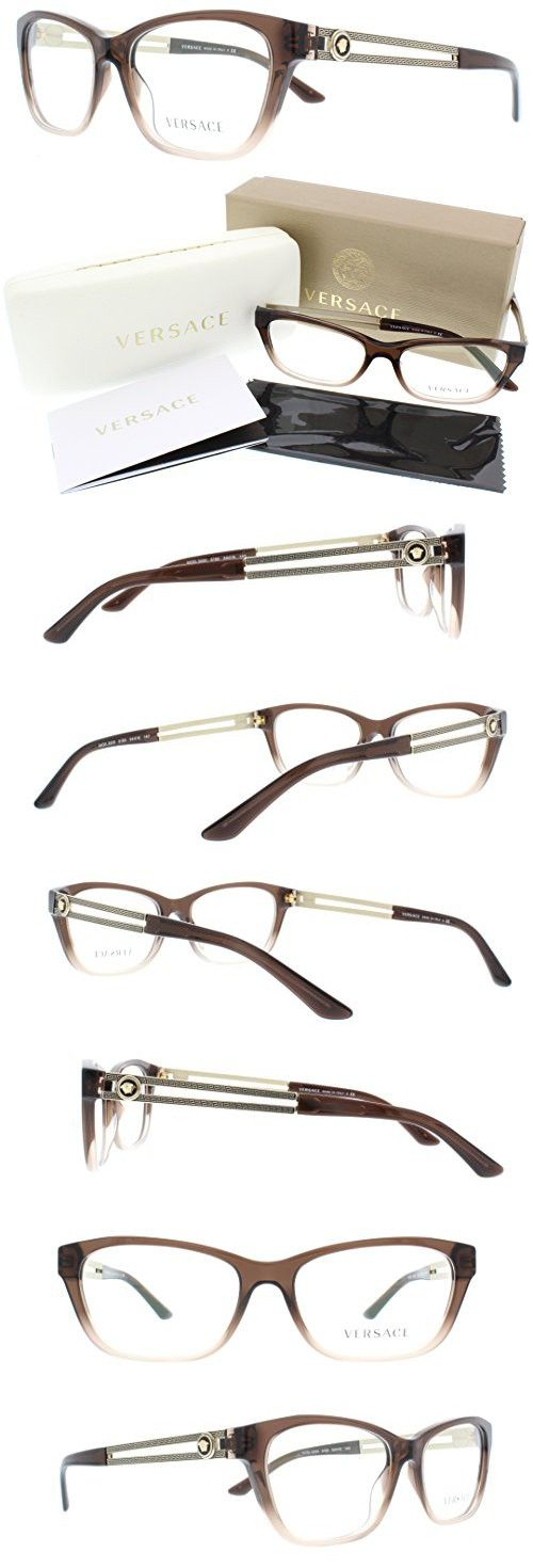 c84027938da5 Versace Eyeglasses VE 3220 5165 Transparent Brown Size 54 ...