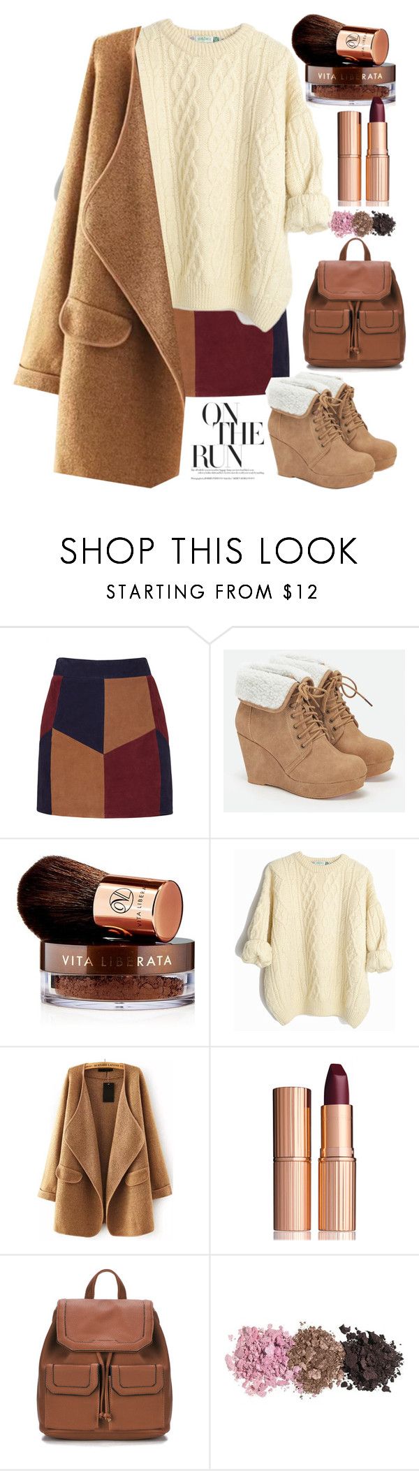 """134"" by erohina-d ❤ liked on Polyvore featuring LaMarque, JustFab, Vita Liberata and Charlotte Tilbury"