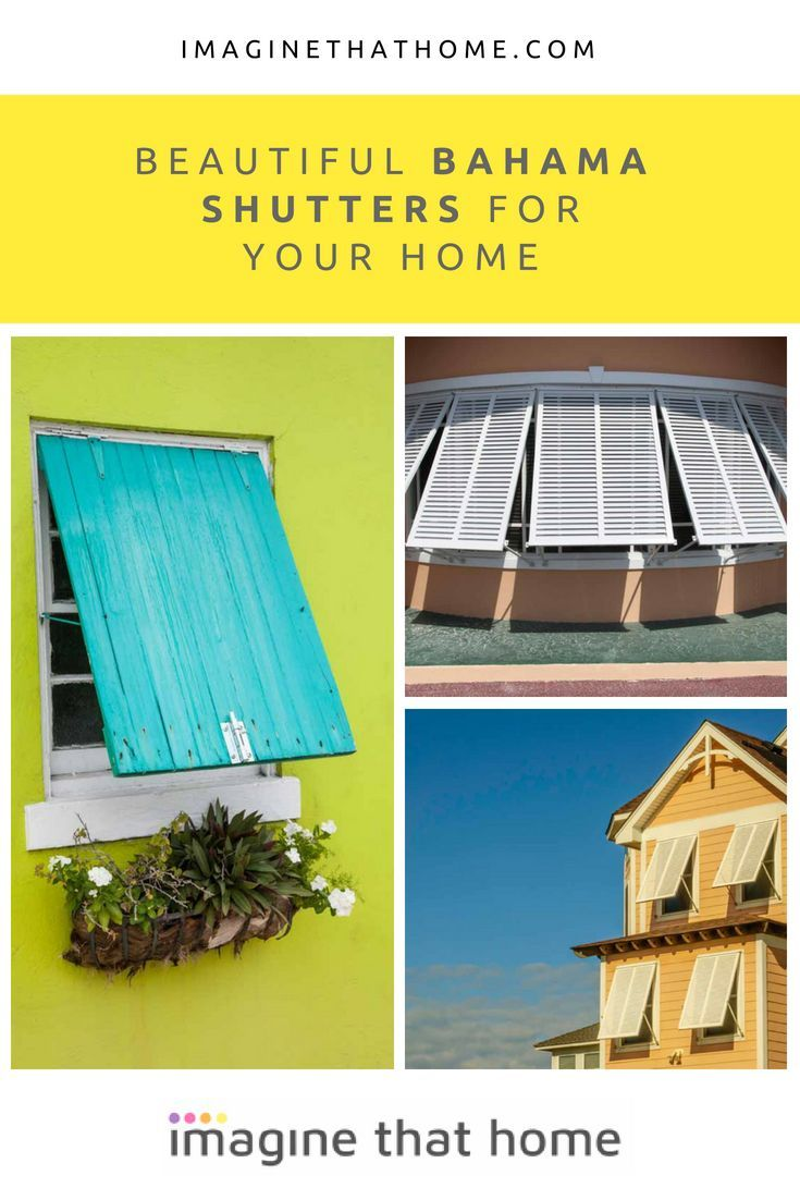Why Invest in Beautiful Bahama Shutters for Your Home