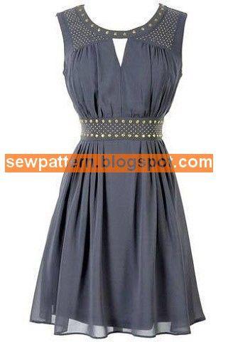 Sew Pattern باترون مفصل لفستان سواريه قصير مقاس 36 48 Bridal Anarkali Suits Cute Fashion Fashion