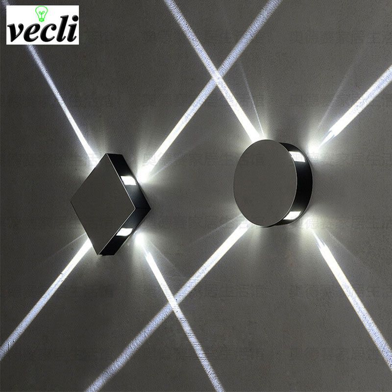 Led Wall Light 6w Outdoor Waterproof Ip65 Garden Porch Wall Lamp Home Sconce Indoor Decoration Lighting Lamp Aluminum A Led Wall Lamp Wall Lamp Led Wall Lights