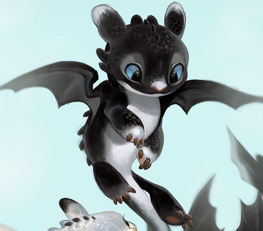 Baby Night Light Dragon