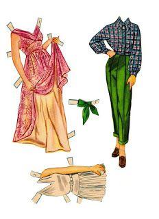 Bonecas de Papel: Elizabeth Taylor