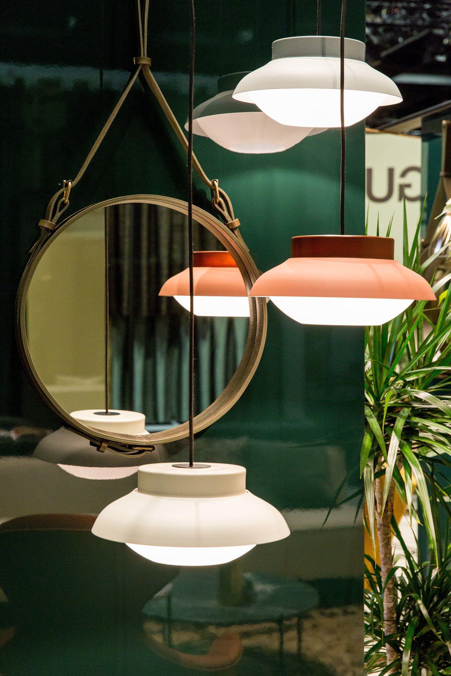 Aluminium Pendant Lamp Collar By Gubi Design Sebastian Herkner Aluminum Pendant Lamp Steel Lighting Lighting Inspiration