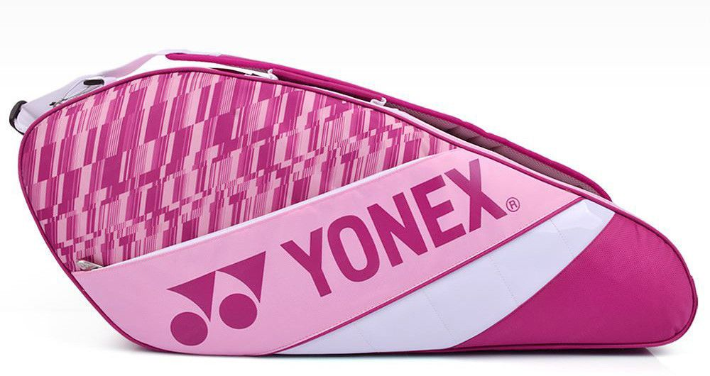 Yonex Badminton Tennis Racket Bag Pink Holder Back Nwt 2017 New Model 79br007u Yonex Tennis Racket Bag Badminton Tennis Gear