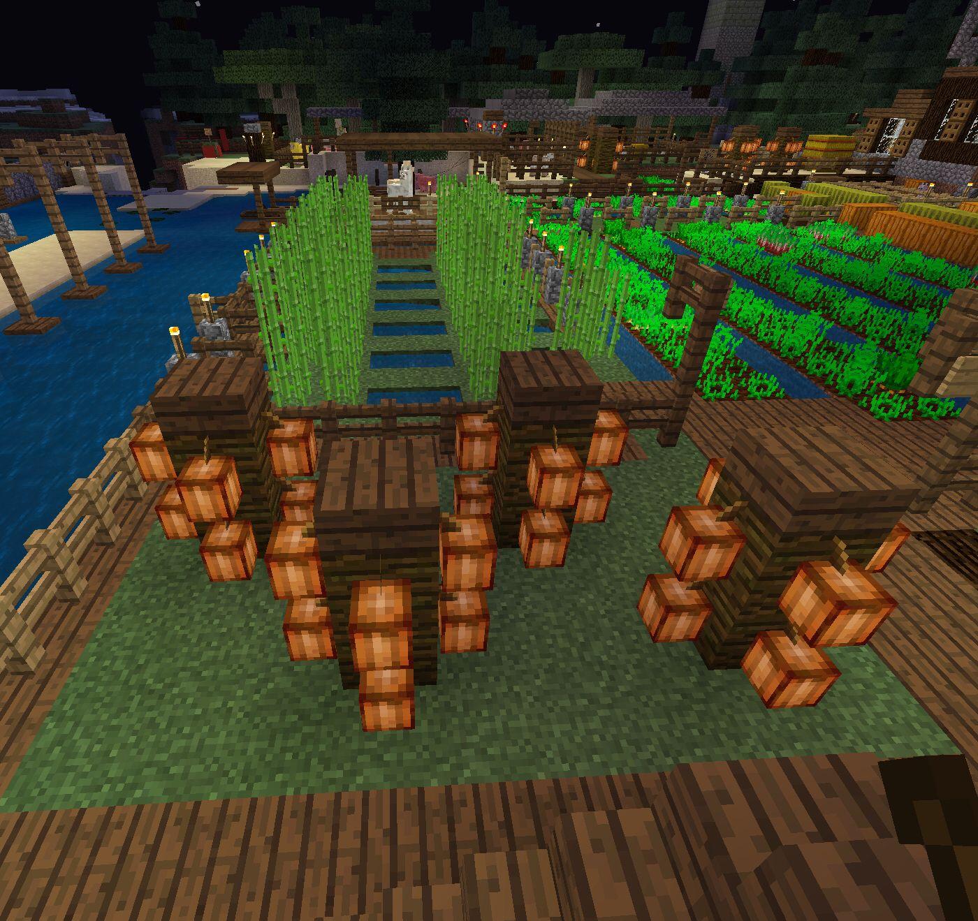 How to grow cocoa  Minecraft treehouses, Minecraft farm