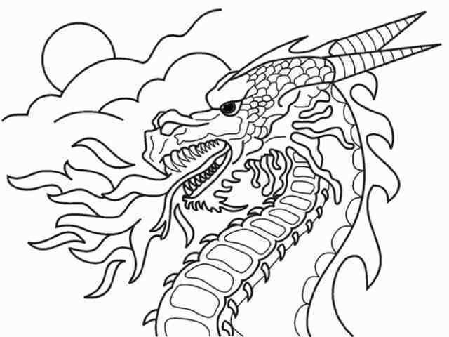 drachen malvorlagen 03 | Ausmalbilder | Pinterest | Drachen ...