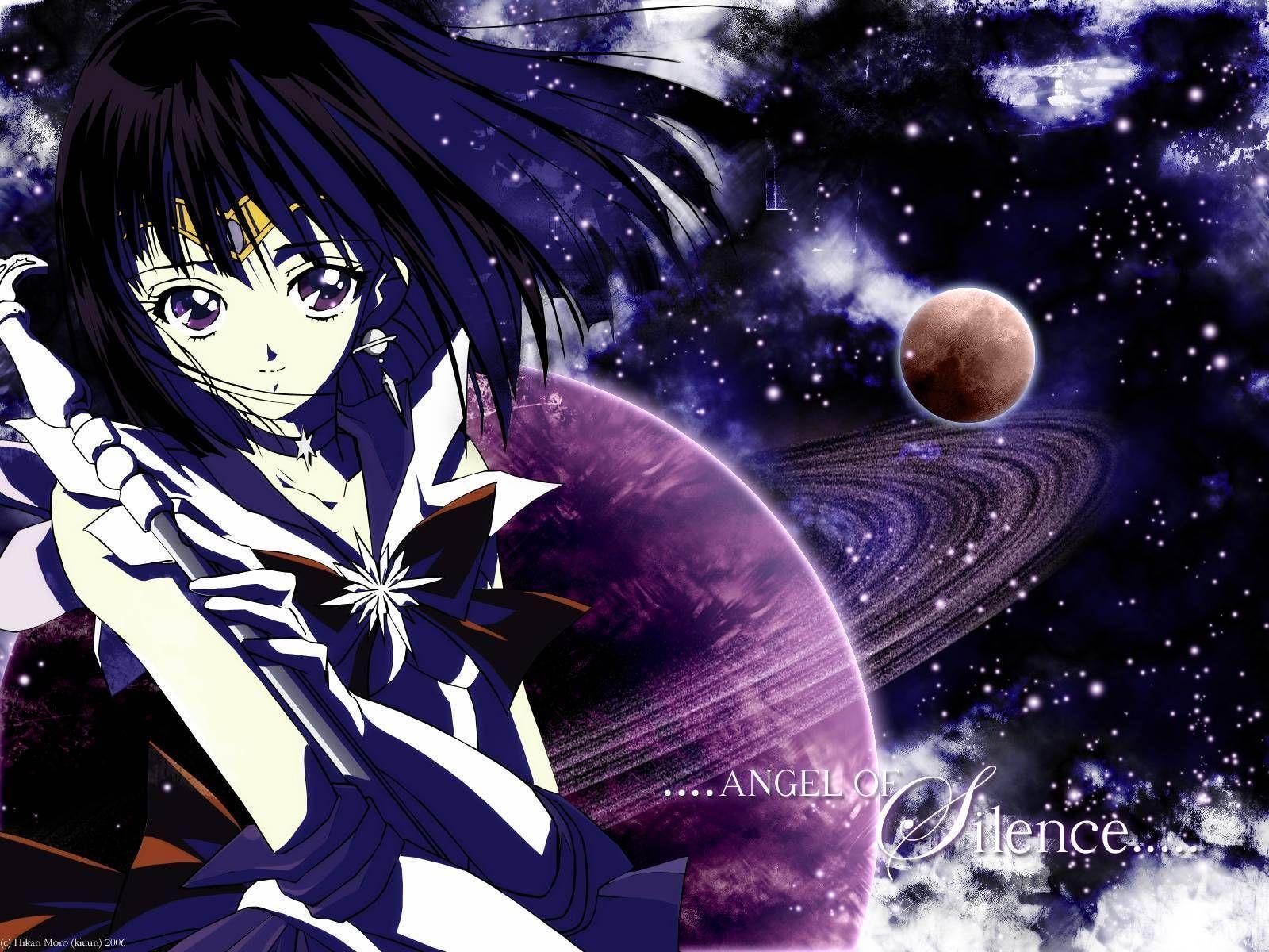 Sailor Saturn Wallpaper by princesspheonix on DeviantArt