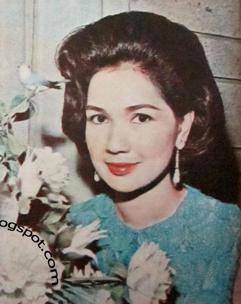 young and beautiful Ms.Susan Roces