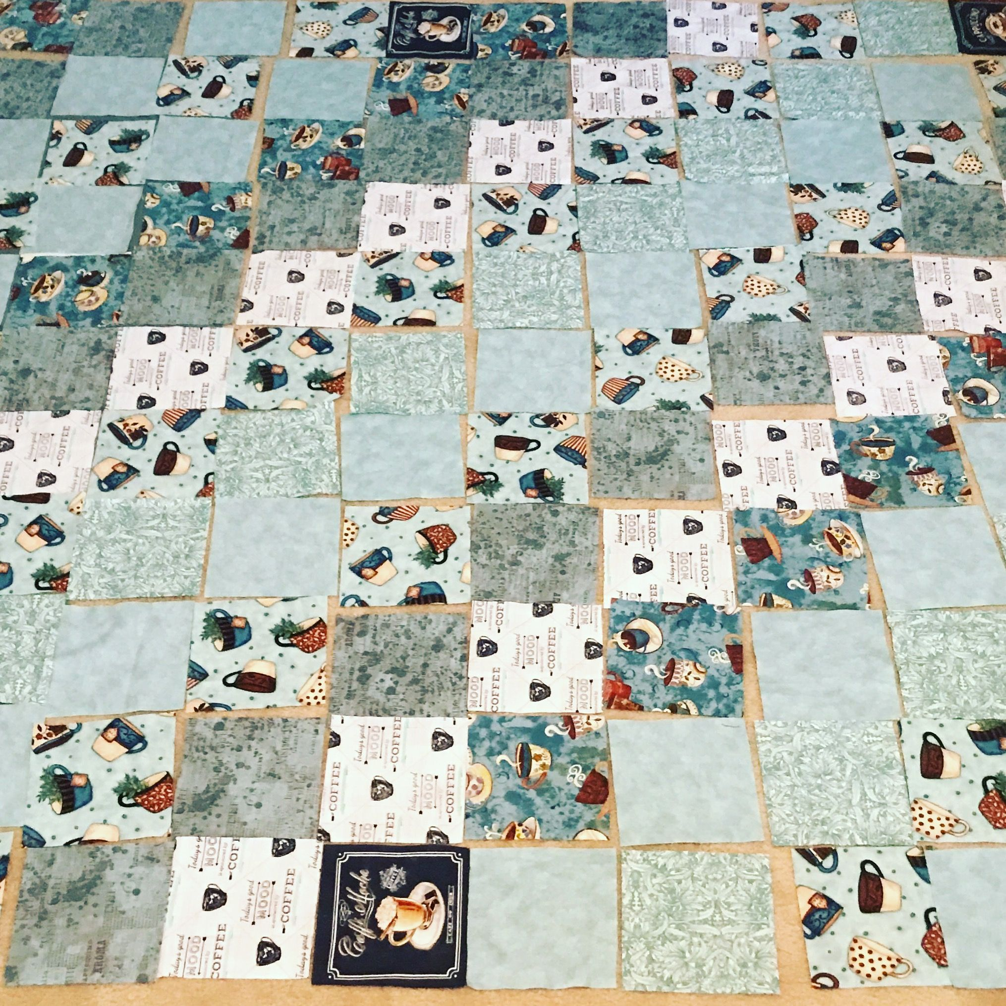 My Very 1st Attempt At A Large Quilt! Scary!!!! #wip