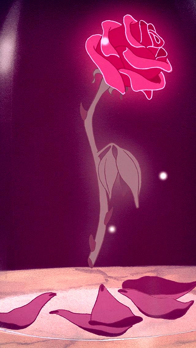 Enchanted Rose Drawing: Enchanted Rose, Beauty & The Beast