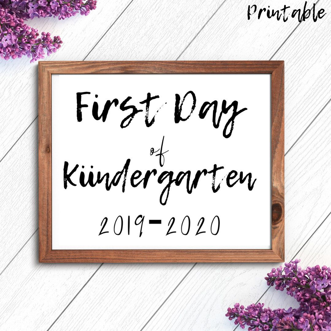 Future Class of 2032, Kinder First Day Sign, First Day of School Printable, First Day Printable, kindergarten first day of school, First #firstdayofschoolsign