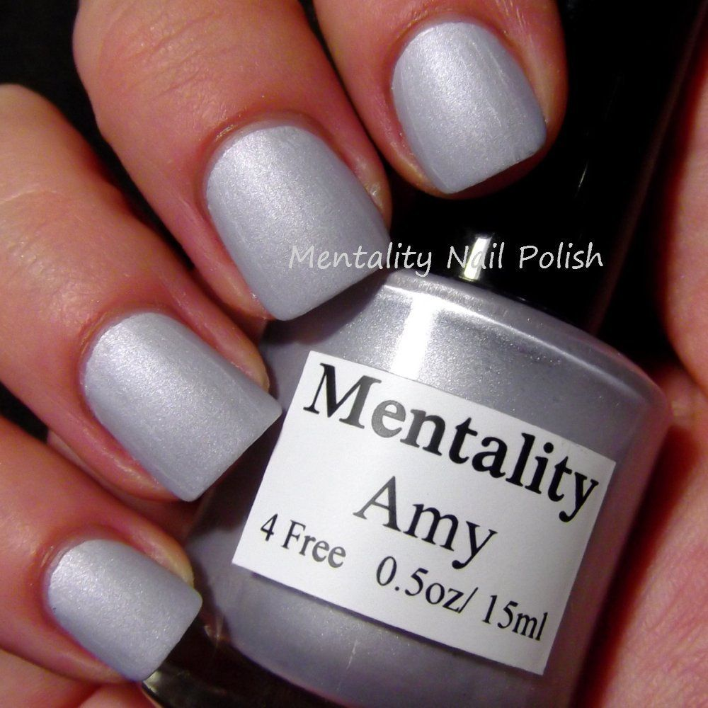 Mentality Nail Polish The Pink Mattes Swatches and Review