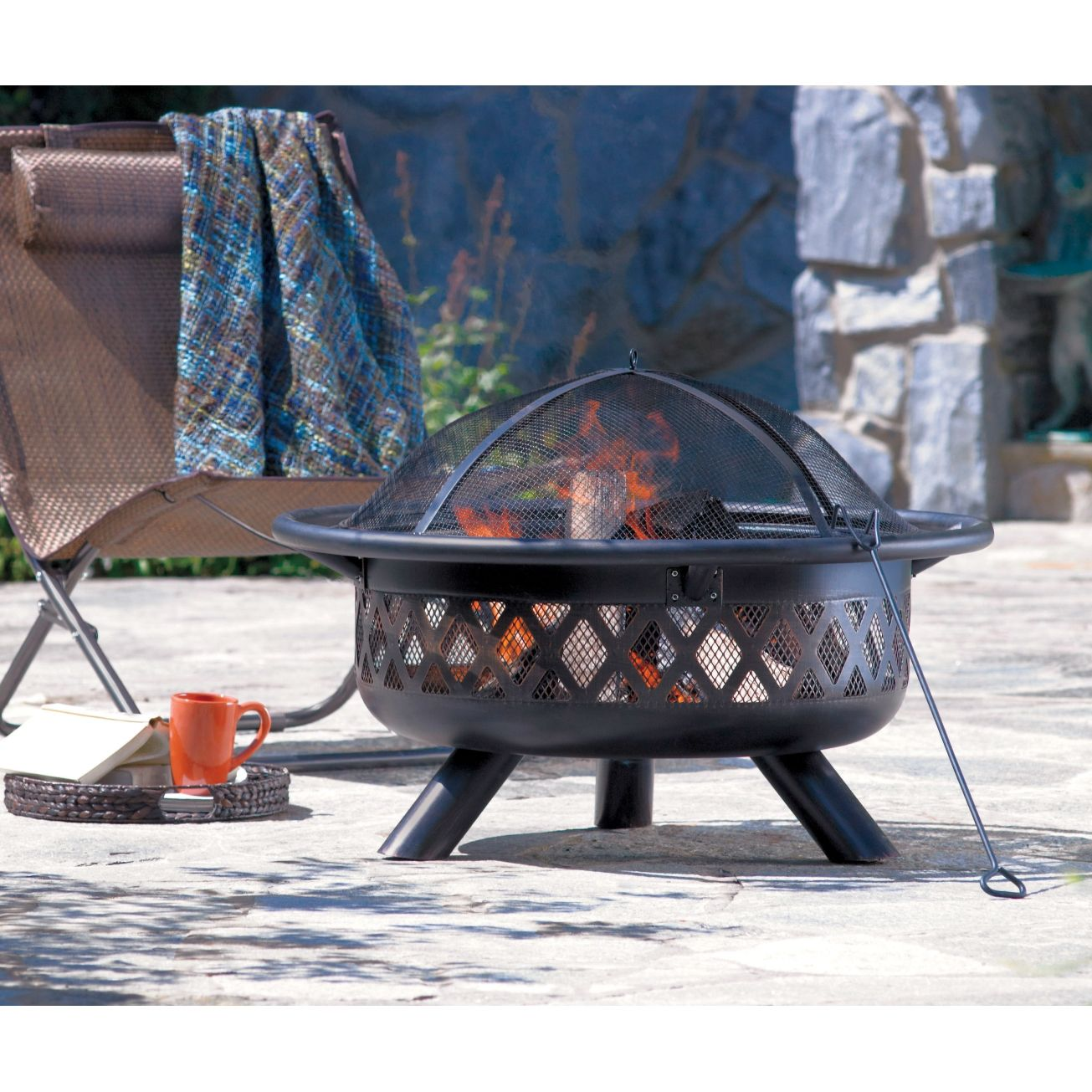 38In Round Fire Pit - Outdoor Fireplace   Outdoor fire pit ... on Ace Hardware Fire Pit id=60235