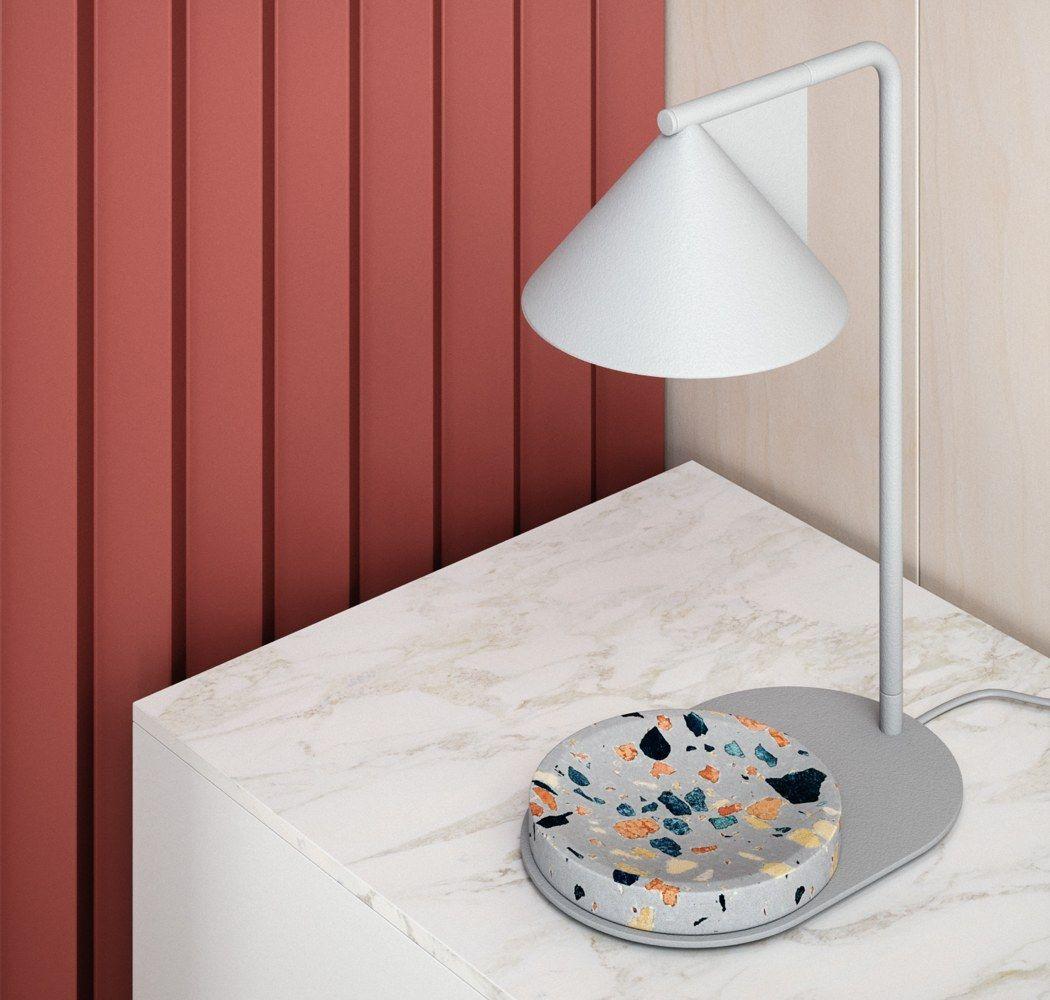 A Beautifully Minimalistic Rock Lamp Yanko Design Rock Lamp Lamp Design Milk