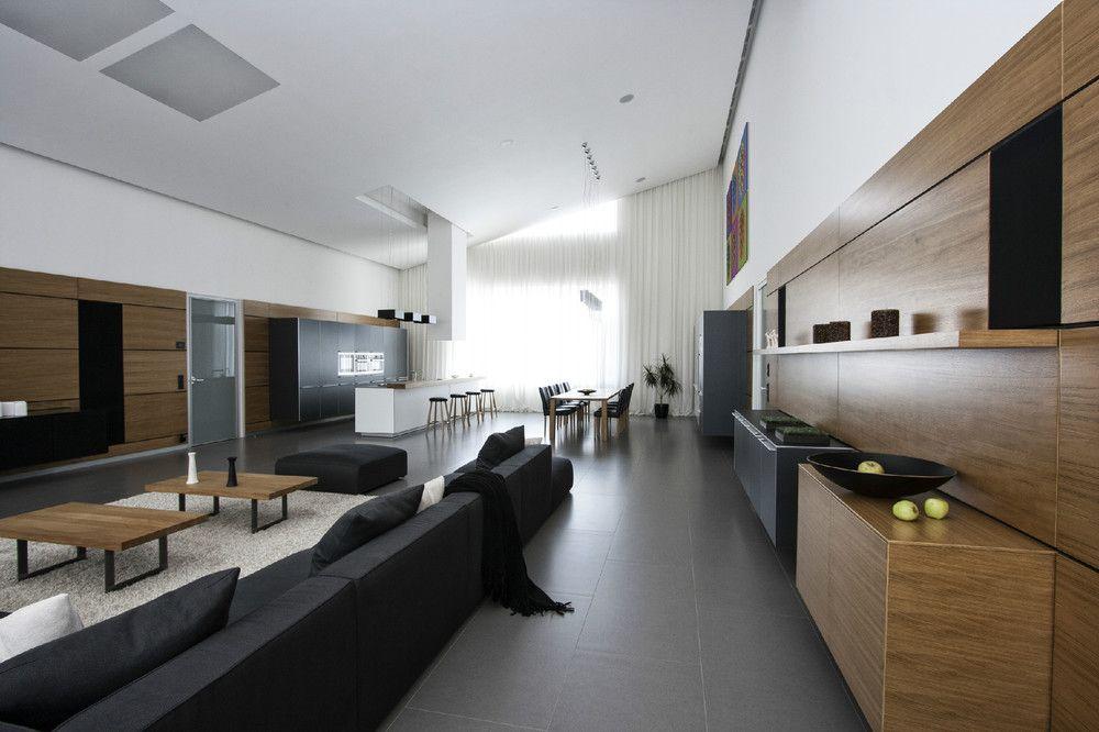 Cavernous cool interior