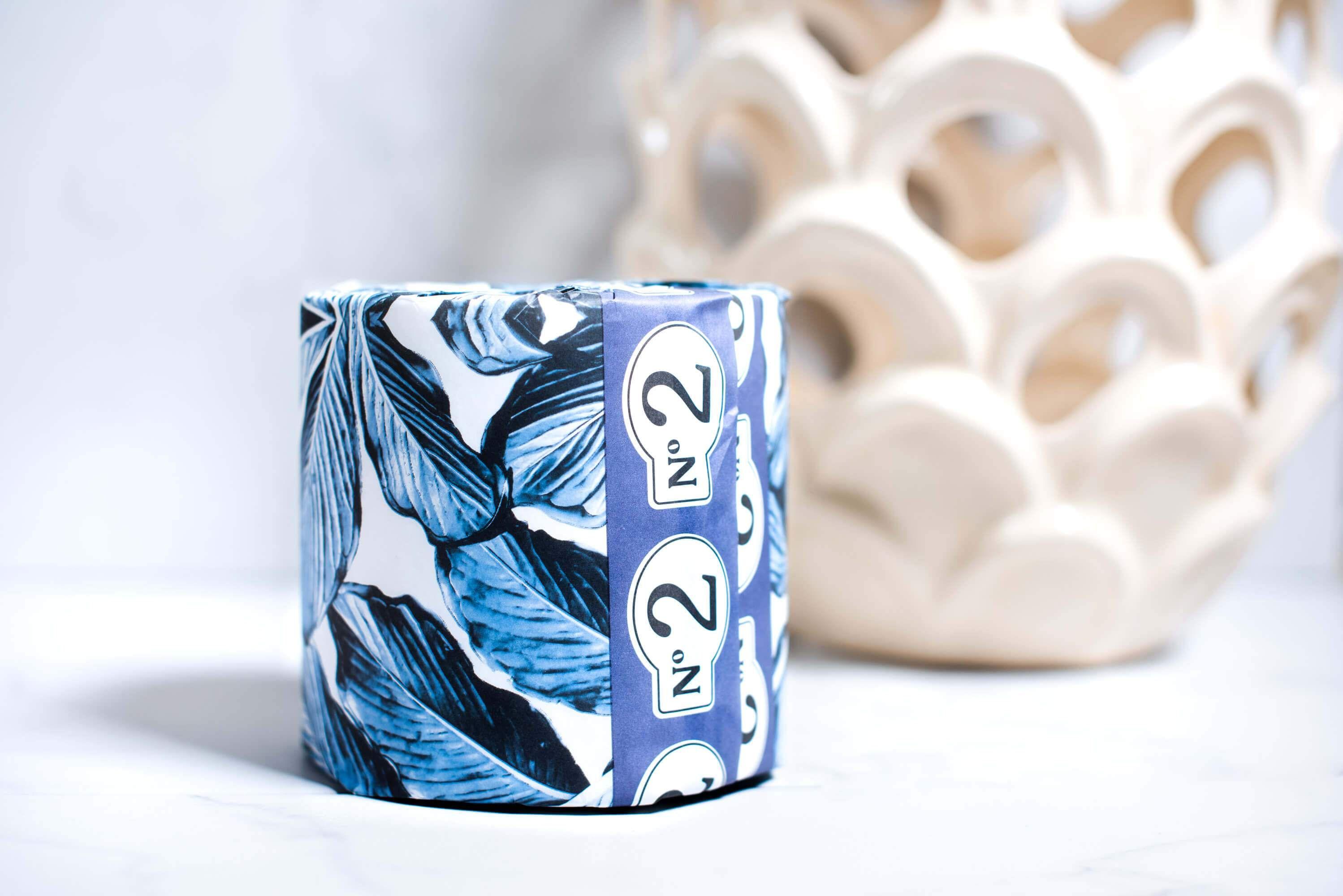 No.2 Bamboo Toilet Paper - Eco-Friendly TP - No.2 Toilet Paper