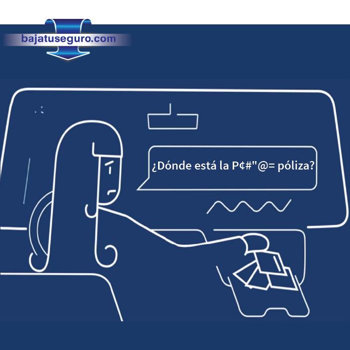 #Típico cuando chocas lo que más trabajo te cuesta encontrar es la póliza. Con nosotros la tienes en tu celular… Muy práctico, ¿No crees? www.bajatuseguro.com http://ow.ly/i/7KEGr