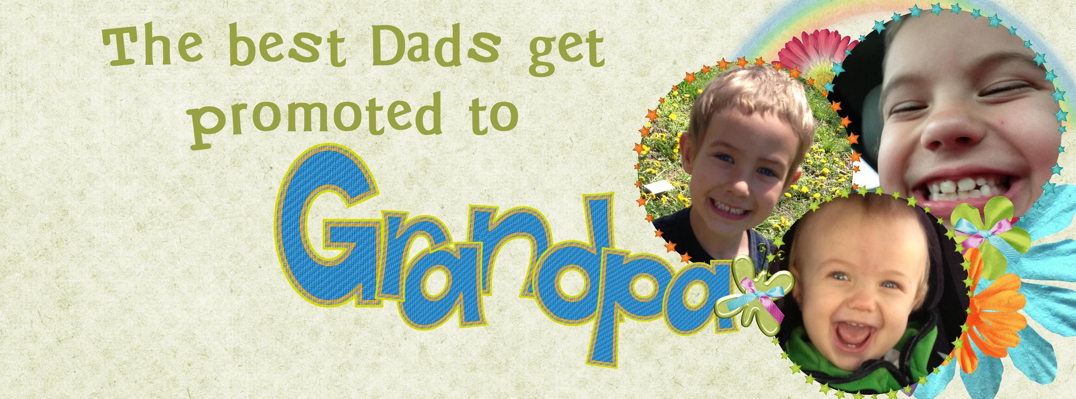 The best dads get promoted (Facebook Timeline Cover can be personalized for free)