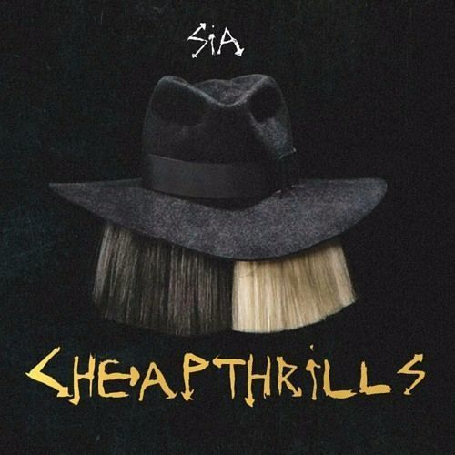 Sia – Cheap Thrills (single cover art)