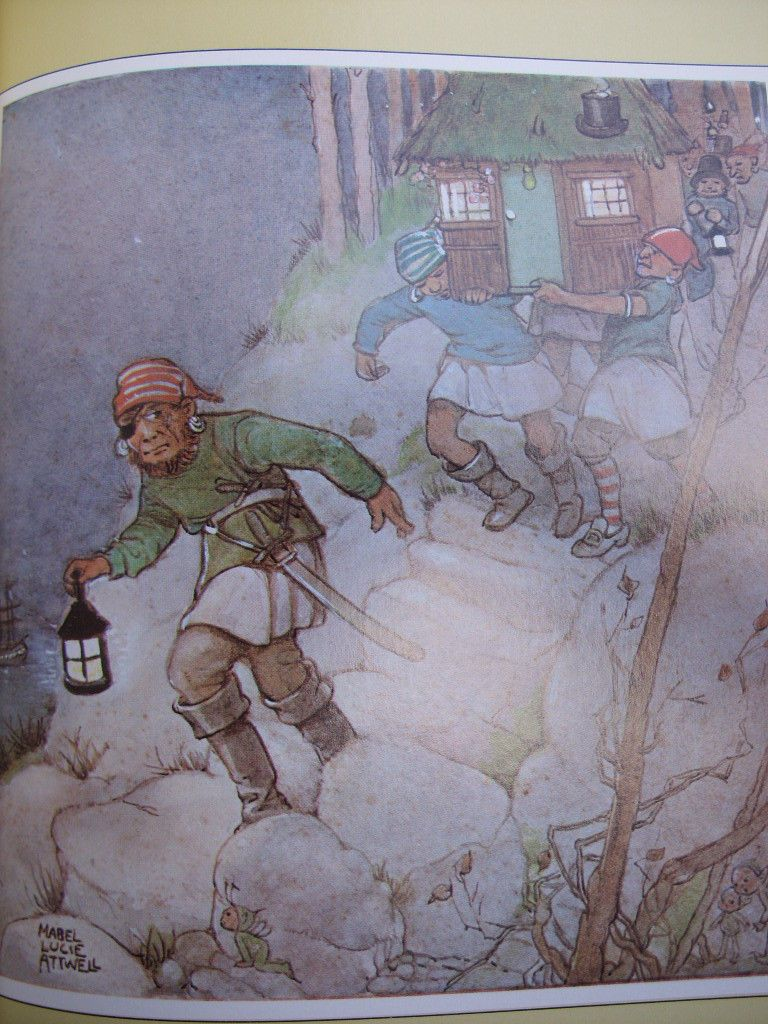 Peter Pan and Wendy J M Barrie Illustrated by Mabel Lucie Attwell | eBay uit het boek,                        lb xxx.