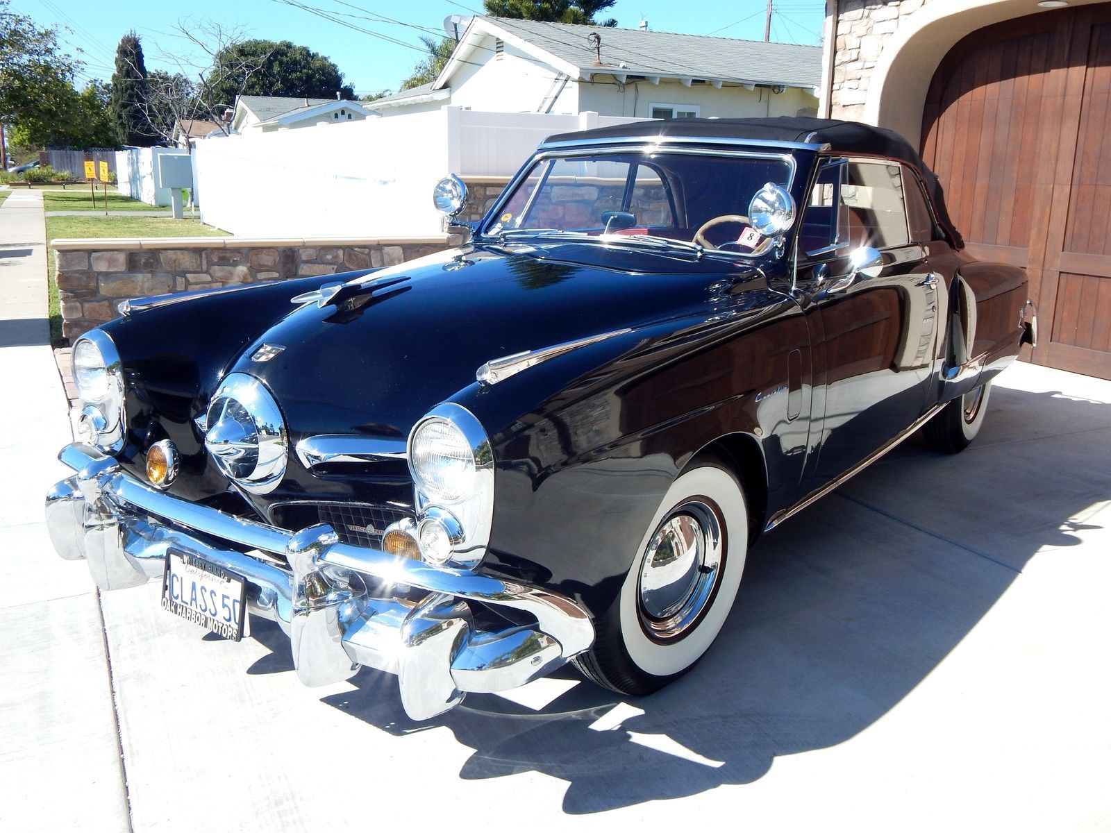 1950 Studebaker Commander Bullet Nose Convertible With Automatic