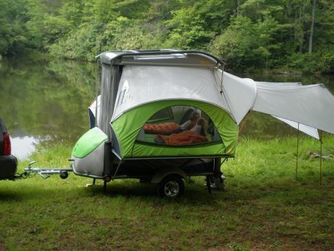 Go Camper Zeltanhänger Caravan, Faltcaravan, Zelten