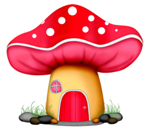 wp tos fairyhouse png preciosos3 pinterest clip art mushroom rh pinterest co uk