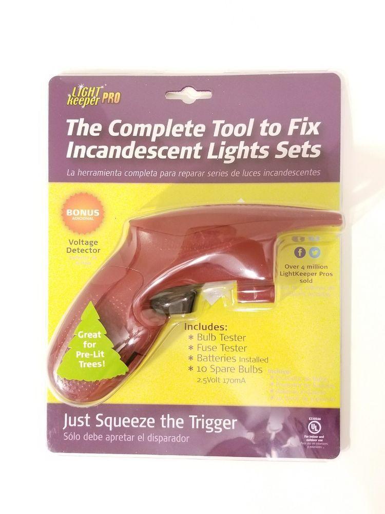Light Keeper Pro Christmas Lights Tester Repair Tool Tree Fixer