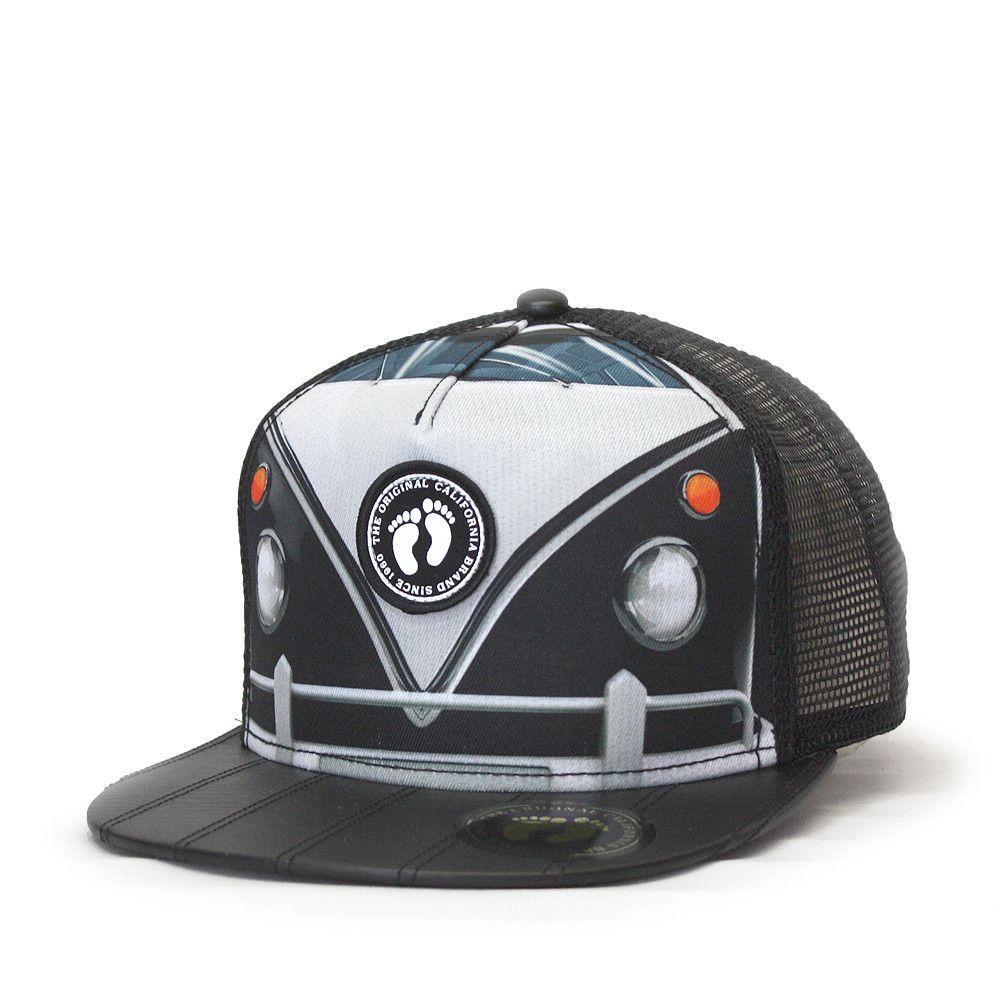 Hang Ten Volkswagen Sublimated Snapback Trucker Baseball Cap