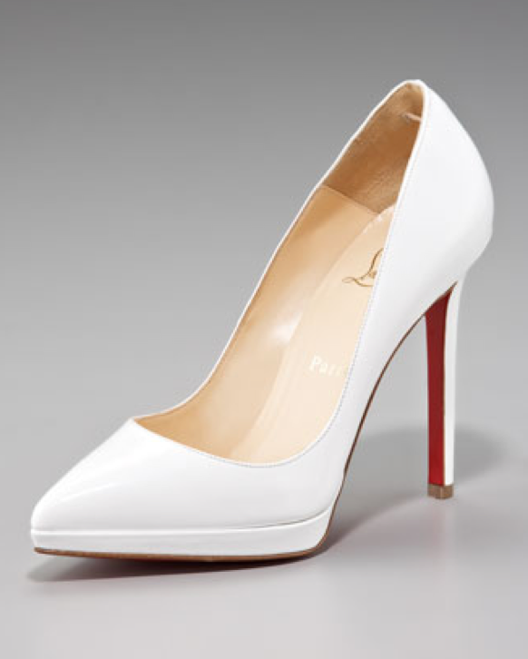 Its Not Tuesday But Theres Something Beautiful About The Classic White Heels For Your Wedding