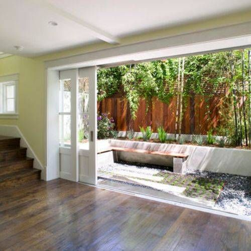 Sliding glass pocket doors exterior | Pinterest | Pocket doors ...
