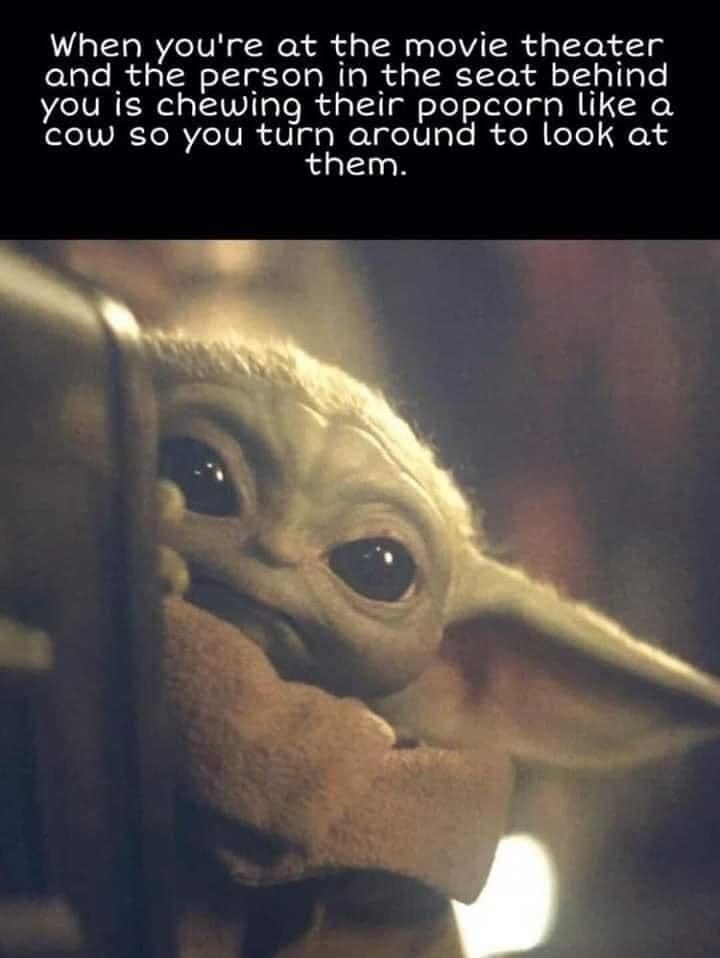 Or Gum Bro Seriously In 2020 Yoda Funny Funny Star Wars Memes Yoda Movie