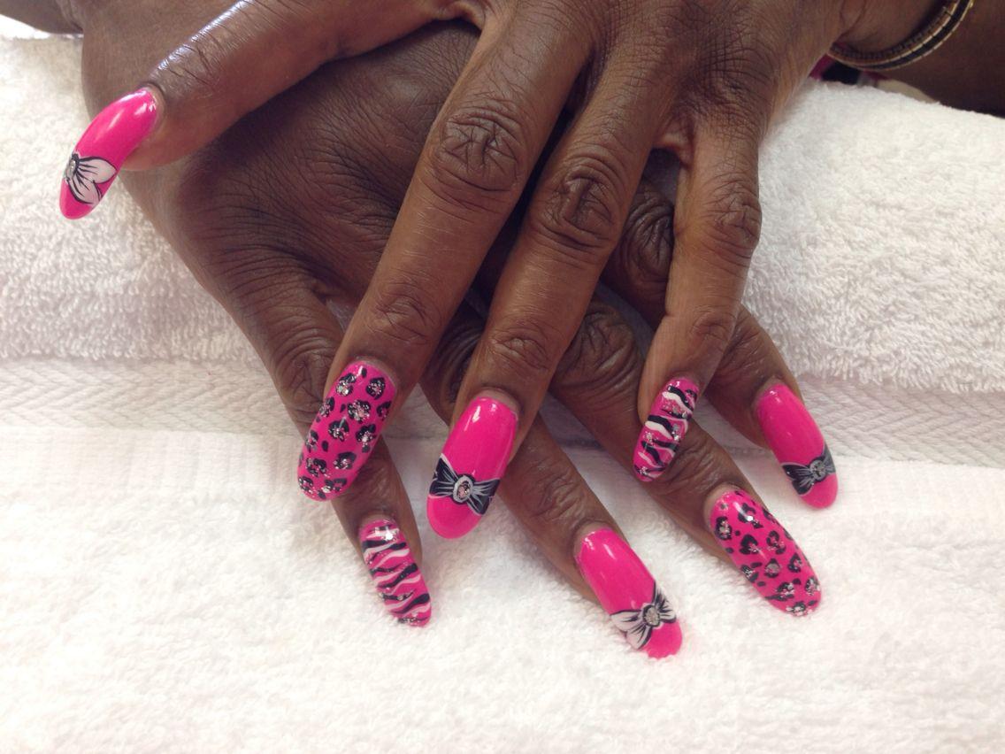 Summer nails ... | Designs by Diamond Nail Spa | Pinterest | Diamond ...